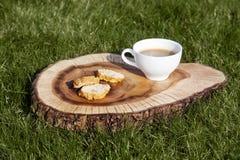 Biscuits de Cantuccini Images libres de droits