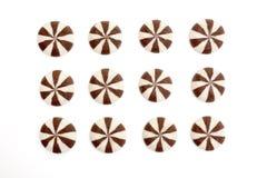 Biscuits de cercle Photos libres de droits