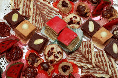 Biscuits de chocolat Images libres de droits