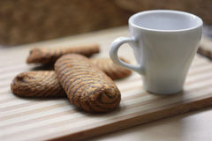 Biscuits de chocolat Photo libre de droits