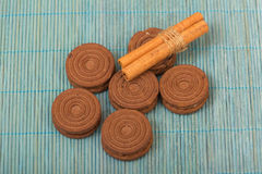 Biscuits de chocolat Image libre de droits