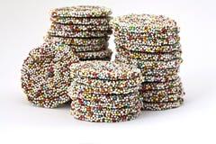 Biscuits de chocolat photo libre de droits