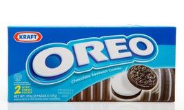 Biscuits de chocolat d'Oreo Photo libre de droits