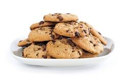 biscuits de chocolat de puce Photo libre de droits