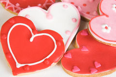 Biscuits de coeur Image stock