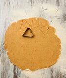 Biscuits de coeurs de jour de valentines photos stock