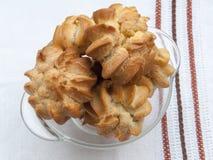 Biscuits de crème anglaise photos libres de droits