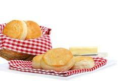 Biscuits de dîner avec l'espace de copie image stock