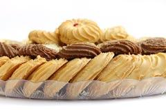 Biscuits de Delcious et biscuits, foyer sur des biscuits de cacao Image stock