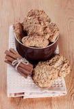Biscuits de farine d'avoine photos libres de droits