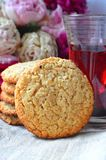 Biscuits de farine d'avoine Photo stock