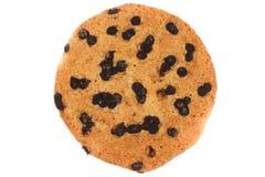Biscuits de farine d'avoine avec des pastilles de chocolat photos stock