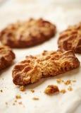 Biscuits de farine d'avoine sains faits maison Photo libre de droits