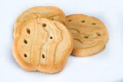 Biscuits de fille scout images stock