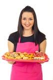 Biscuits de fixation de confiseur photo libre de droits