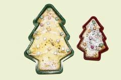 Biscuits de forme du ` s de nouvelle année Photo libre de droits