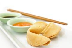 Biscuits de fortune Photos stock