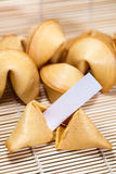 Biscuits de fortune chinois photographie stock libre de droits