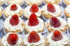 Biscuits de fraise Image stock