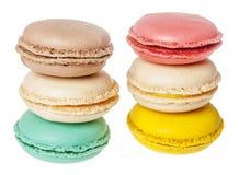 Biscuits de Français de Macarons Photographie stock libre de droits