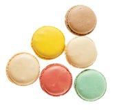 Biscuits de Français de Macarons Photos stock