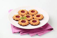 Biscuits de gelée photos stock