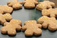 Biscuits de gingembre Photo libre de droits