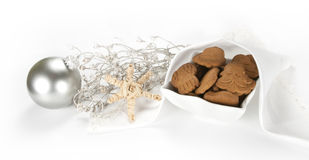 Biscuits de gingembre Photographie stock