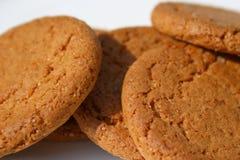 Biscuits de gingembre Photographie stock libre de droits