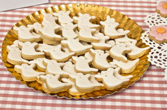 Biscuits de Halloween Image libre de droits