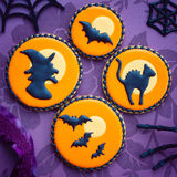 Biscuits de Halloween Photos stock