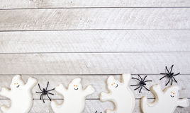 Biscuits de Halloween image stock