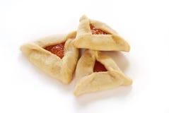 Biscuits de Hamantaschen Photos libres de droits