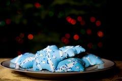 Biscuits de Hanukah Images stock