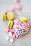Biscuits de jour de Valentine s Photos stock