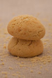 Biscuits de la forme ronde photo stock