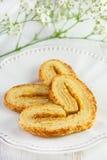 Biscuits de la plaque Photos stock