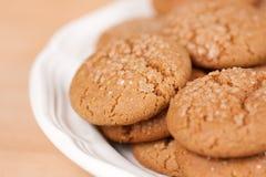 Biscuits de mélasse Photo libre de droits