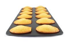 Biscuits de Madeleine Photo stock