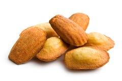 Biscuits de Madeleine Images stock