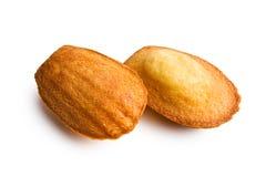 Biscuits de Madeleine Photo libre de droits