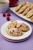 Biscuits de Madeleine Image libre de droits