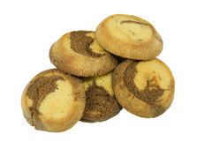 Biscuits de marbre de sablé Image stock