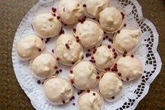 Biscuits de meringue photo stock