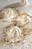 Biscuits de meringue Images libres de droits
