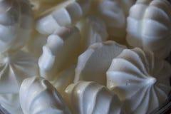 Biscuits de meringue de vanille Image stock