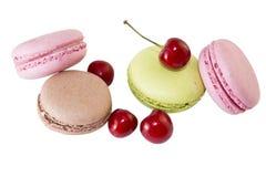 Biscuits de meringue (image avec le chemin de coupure) Photo libre de droits