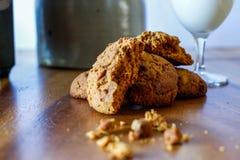 Biscuits de molasse Photographie stock libre de droits