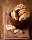 Biscuits de morceau de chocolat Photos libres de droits