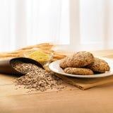 Biscuits de Multigrains photos libres de droits